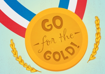 go for the gold party